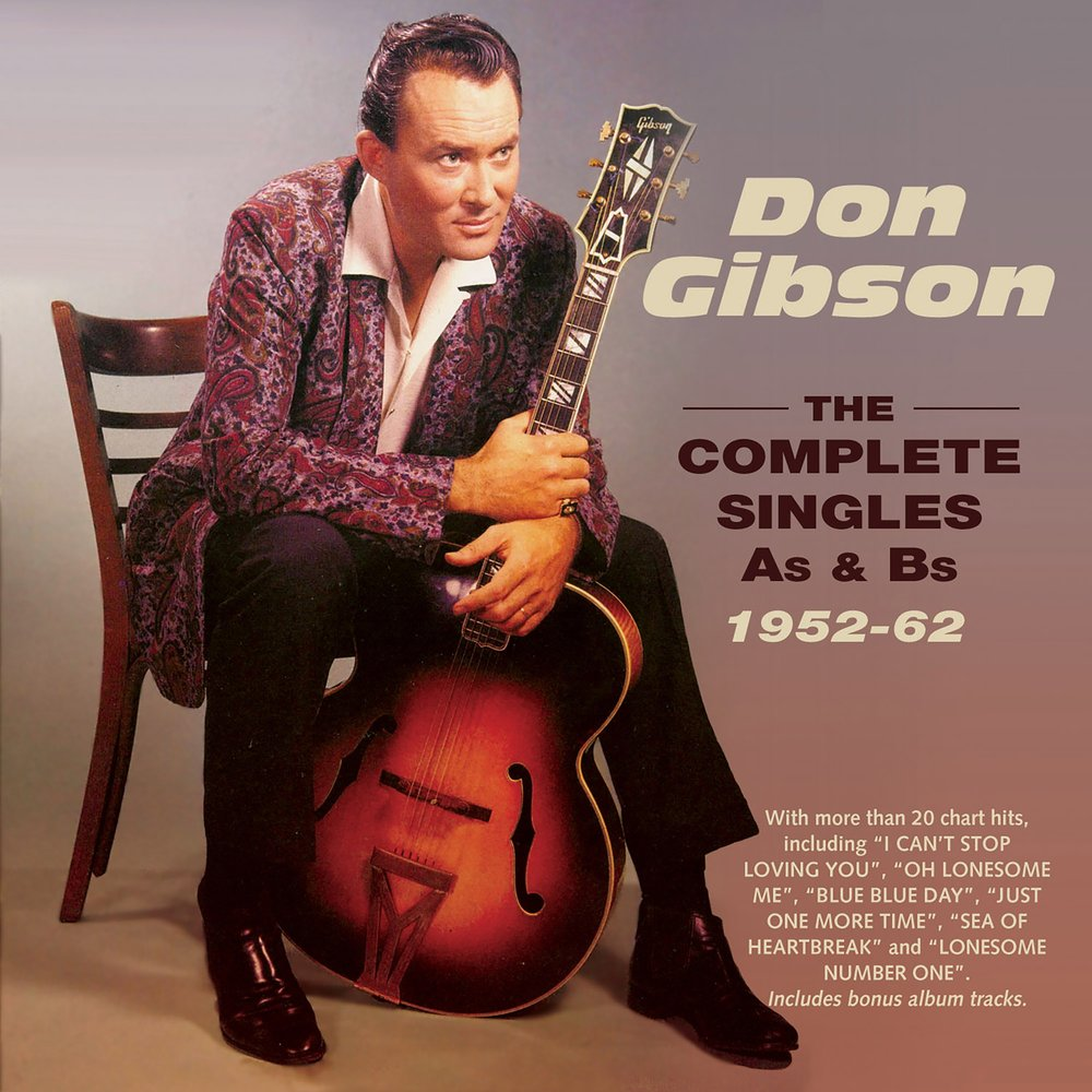 Lp - don gibson - just call me lonesome