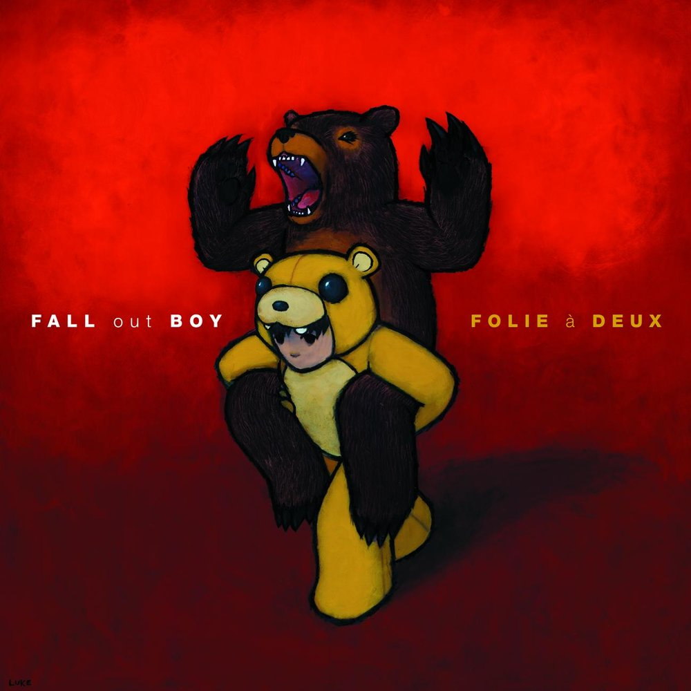 Fall out boy (musical group), my songs know what you did in the dark, light em up, jet pack blues, top 10 fall out