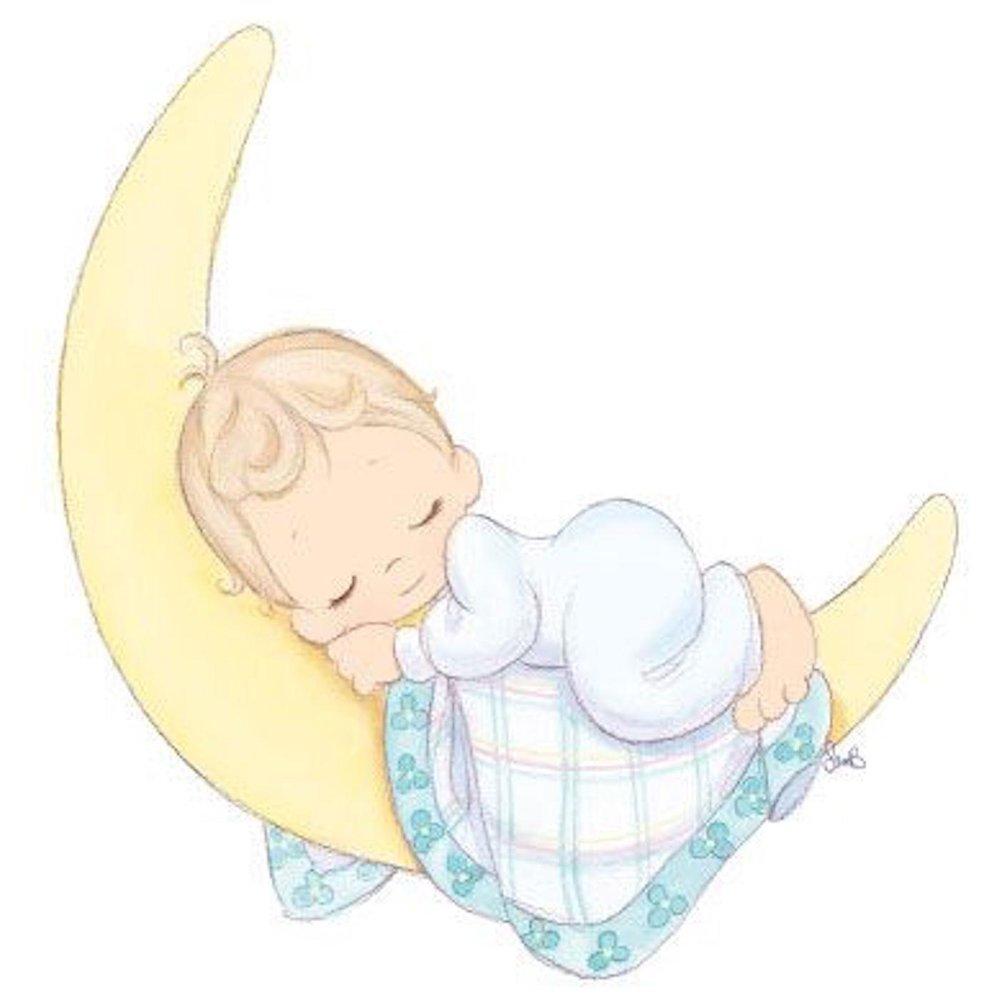 Рисунки спящего малыша