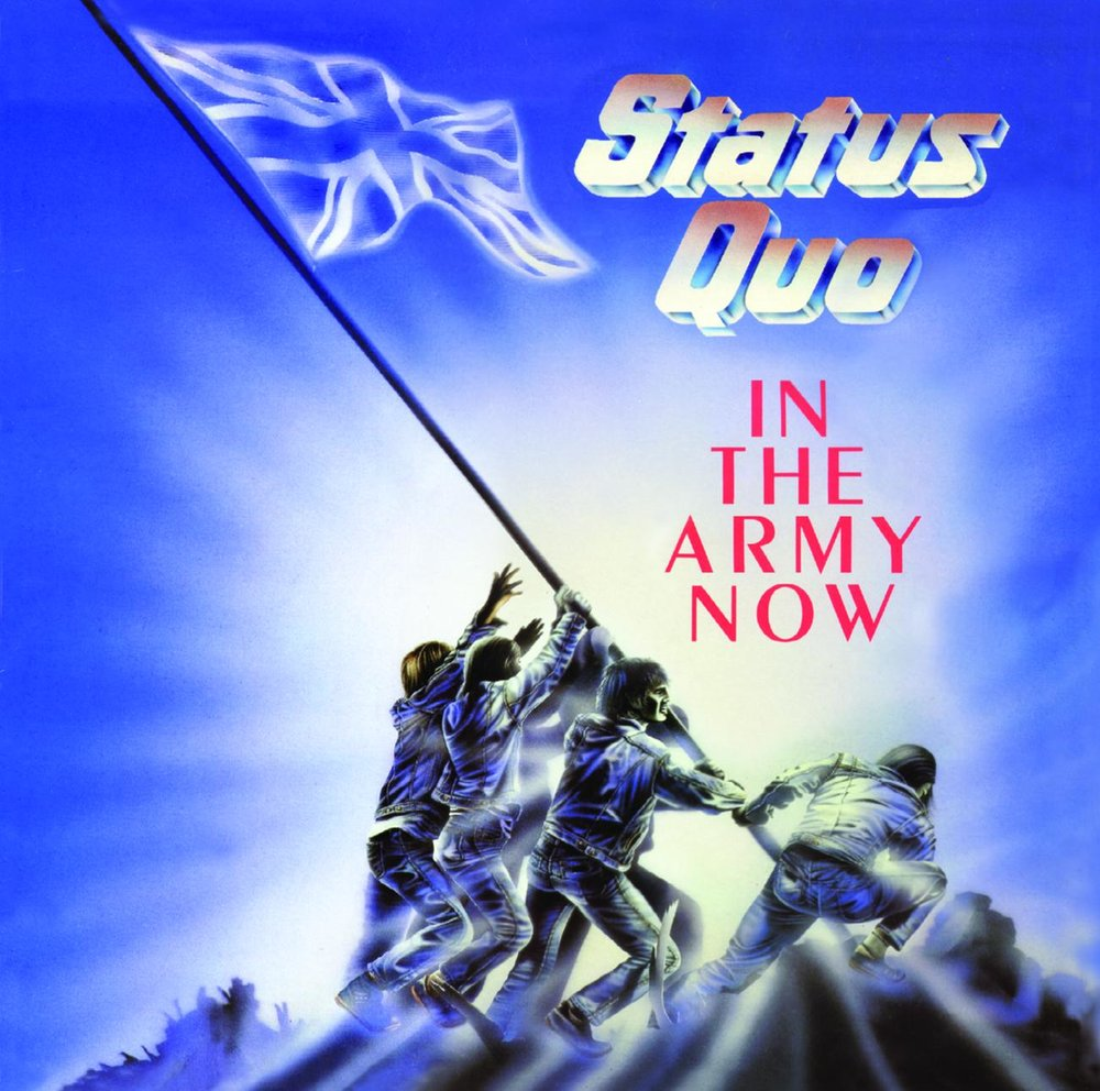 Статус кво you're in the army now