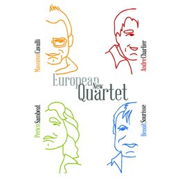 European New Quartet — Benoit Sourisse, André Charlier, Perico Sambeat, Europeen New Quartet, Massimo Cavali, European New Quartet