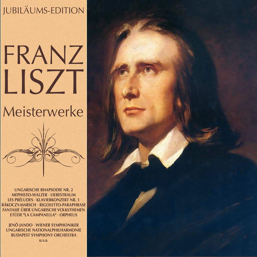 a biography of franz liszt a romantic composer