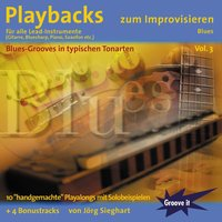 Playbacks Zum Improvisieren Vol. 3 - Blues — Jörg Sieghart