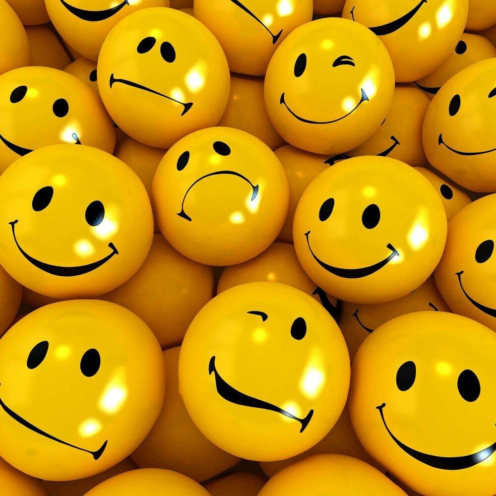 Картинка веселого настроения смайлик