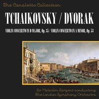 Tchaikovsky: Violin Concerto In D Major, Op. 35/Dvorak: Violin Concerto In A Minor, Op. 53 — Ruggiero Ricci, Sir Malcolm Sargent, London Symphony Orchestra (LSO)
