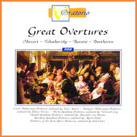 Great Overtures — Budapest Philharmonic Orchestra, Czech Philharmonic Orchestra, Alfred Scholz, Berlin Symphonic Orchestra, Ferdinand Lang