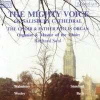 The Mighty Voice of Salisbury Cathedral — Иоганн Себастьян Бах, Сезар Франк, Ференц Лист, Charles Villiers Stanford, Thomas Attwood Walmisley, Samuel Sebastian Wesley, Richard Seal, Salisbury Cathedral Choir