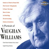 A Portrait of Vaughan Williams — Stephen Darlington, Medici String Quartet, Christ Church Cathedral Choir, William Boughton, English String Orchestra, English String Orchestra|Christ Church Cathedral Choir|Medici String Quartet, Ralph Vaughan Williams