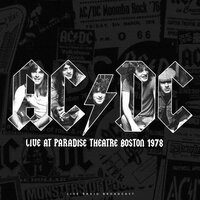 Live At Paradise Theatre Boston 1978 — Acdc