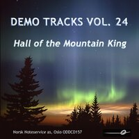 Vol. 24: Hall of the Mountain King - Demo Tracks — Norsk Noteservice Wind Orchestra