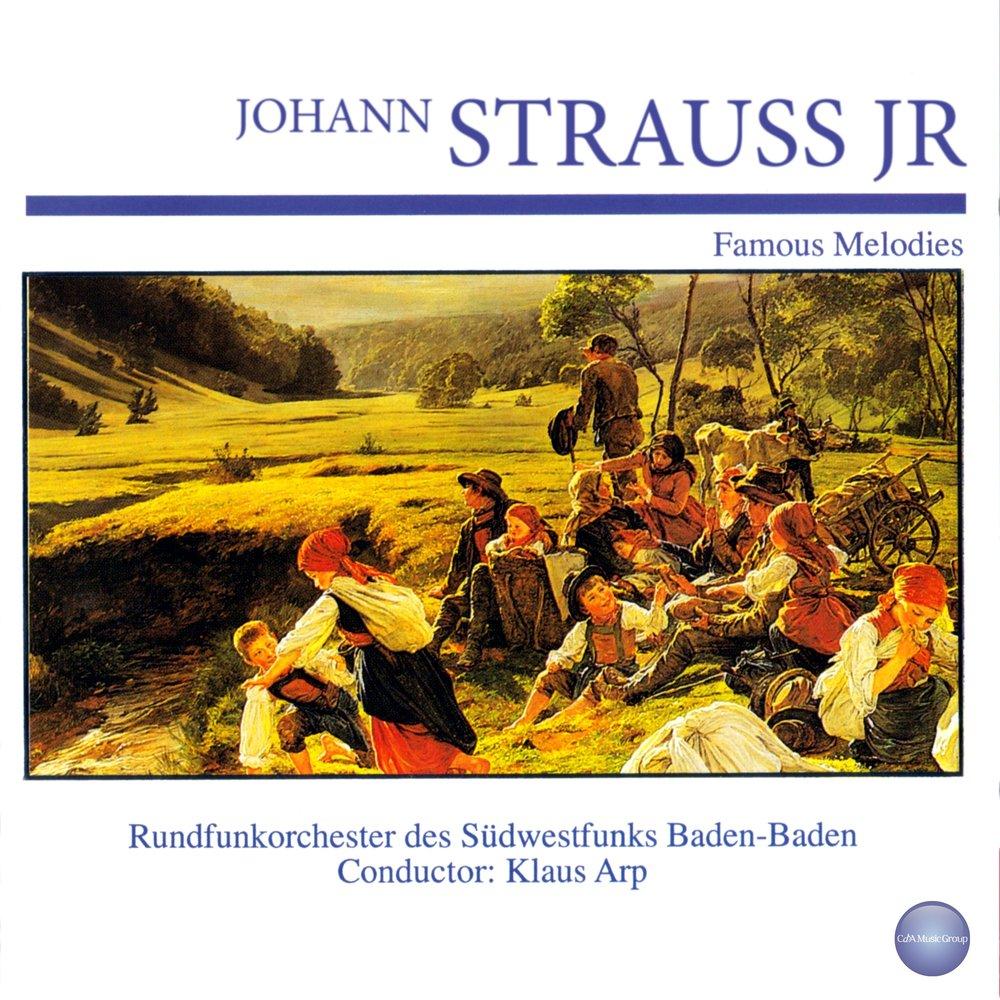 Johann Strauss Jr. И. Штраус На Прекрасном Голубом Дунае - Венская Кровь