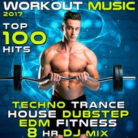 Workout Music 2017 Top 100 Hits Techno Trance House Dubstep EDM Fitness 8 Hr DJ Mix — сборник