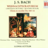 Bach: Christmas Oratorio BWV 248 & Gloria in excelsis Deo BWV 191 — Oliver Widmer, Hans Peter Blochwitz, Christiane Oelze, Annette Markert, Ludwig Güttler, Virtuosi Saxoniae, Herbert Böck & Concentus Vocalis Wien, Oliver Widmer, Hans Peter Blochwitz, Christiane Oelze, Annette Markert, Virtuosi Saxoniae, Herbert Böck, Concentus Vocalis Wien & Ludwig Güttler, Concentus Vocalis Wien, Herbert Böck, Virtuosi Saxoniae & Ludwig Güttler, Иоганн Себастьян Бах