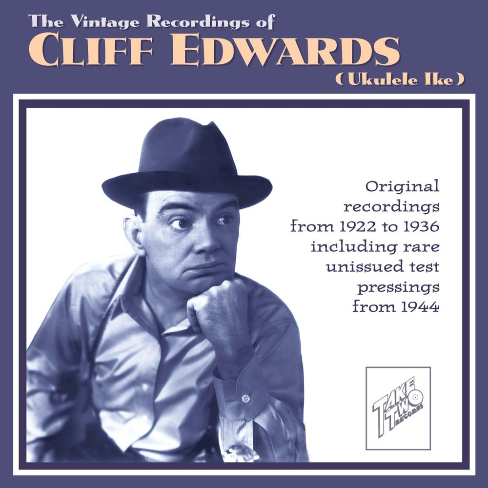 the life and career of cliff edwards or ukelele ike Cliff edwards ukulele ike in 1940 his career revived when he was chosen as the voice of jiminy cricket in the walt disney movie classic.