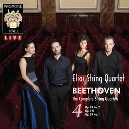 Beethoven: The Complete String Quartets, Vol. 4 — Elias String Quartet, Людвиг ван Бетховен