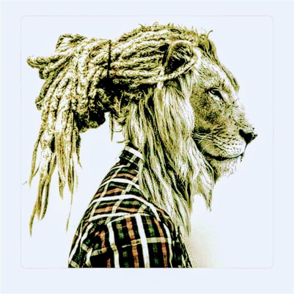 картинки льва с дредами история