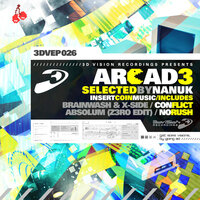 Arcad3, Selected by Nanuk — Brainwash, Absolum, X-Side