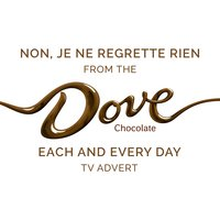 "Non, je ne regrette rien (From the Dove Chocolate ""Each and Every Day"" T.V. Advert) — Edith Piaf"