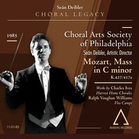 Choral Arts Society Of Philadelphia, Mozart, Mass In C Minor — Sean Deibler Choral Legacy