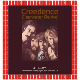 Fillmore West Closing Night, San Francisco CA. July 4th, 1971 — Creedence Clearwater Revival