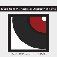 Music from the American Academy in Rome — Jeffrey Jones, Martin Bresnick, George Edwards, William Hellermann