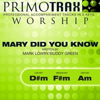 Mary Did You Know (Worship Primotrax) - EP — Ingrid DuMosch, Primotrax Worship