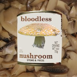 Stems and Pieces — Bloodless Mushroom