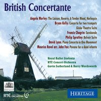 British Concertante — Gavin Sutherland, Various Composers, sinfonia ViVA, Barry Wordsworth, Royal Ballet Sinfonia, Nicholas Kok
