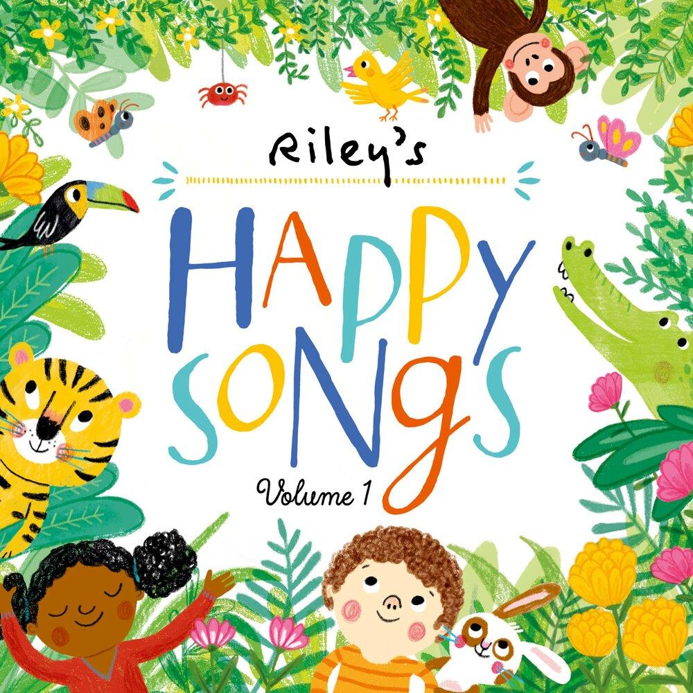 happy songs playlist - 1000×1000