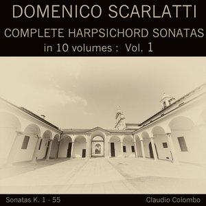 Claudio Colombo - Harpsichord Sonata in A Minor, K. 7 (Presto)