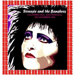 California Hall, San Francisco, CA, 1980 — Siouxsie, The Banshees