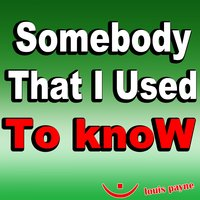 Somebody That I Used to Know — Louis Payne