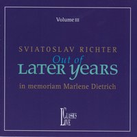 Haydn, Beethoven, Chopin, Scriabin, Debussy & Ravel: Out of Later Years, Vol. III — Святослав Рихтер, Various Composers
