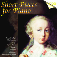 Tchaikovsky, Grieg, Chopin, Mozart, Schumann, Schubert, Skriabin & Rameau: Short Pieces for Piano — Marian Pivka