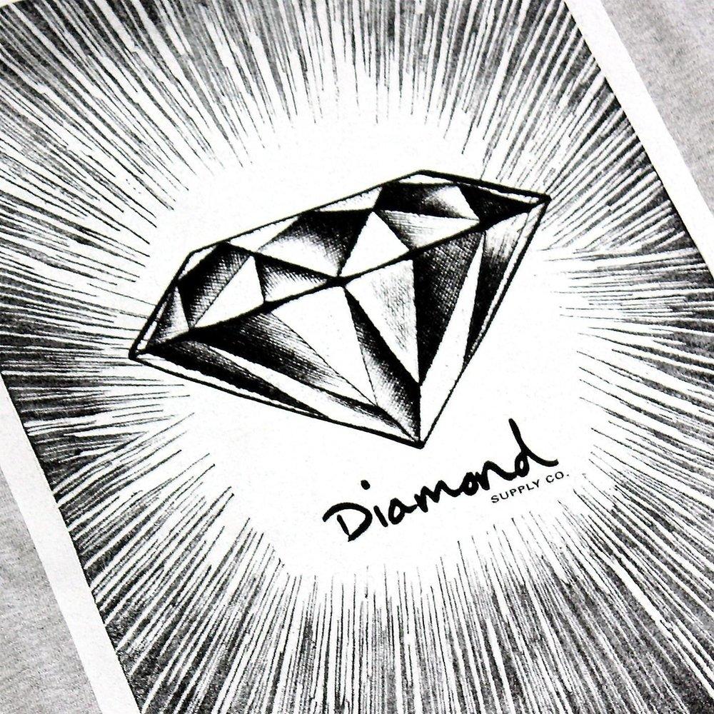 Открытка, картинки с алмазами нарисованные