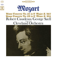 Mozart: Piano Concerto Nos. 21 & 24 — Robert Casadesus, Members Of The Cleveland Orchestra, George Szell