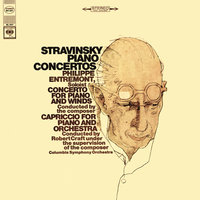 Stravinsky: Capriccio for Piano and Orchestra & Concerto for Piano and Wind Instruments — Philippe Entremont