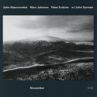 November — John Abercrombie, Marc Johnson, Peter Erskine, John Surman