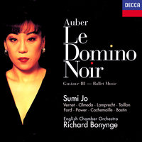 Auber: Le Domino noir; Gustave III Ballet Music — Richard Bonynge, Sumi Jo, Gilles Cachemaille, Patrick Power, Isabelle Vernet, Jocelyn Taillon