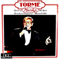 Encore at Marty's, New York — Mel Torme