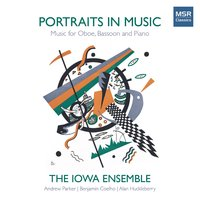 Portraits in Music - Music for Oboe, Bassoon and Piano — Geoffrey Bush, Alan Huckleberry, Daniel Baldwin, Marc Vallon, Benjamin Coelho, Ernst Mahle
