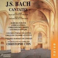 J. S. Bach: Cantates — Gotthold Schwarz, Christophe Coin, Laurence Equilbey, Иоганн Себастьян Бах