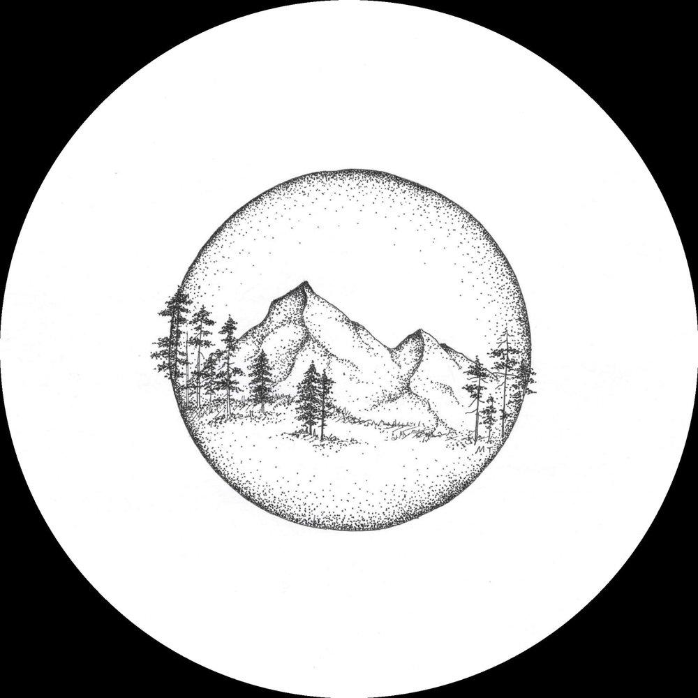 Лошадью, рисунок луна карандашом