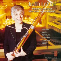 Judith Leclair Plays Schumann, Osbourne, Telemann, Reynolds, Weber and Ravel — Various Composers, Jonathan Feldman, Judith LeClair, Christopher Lamb, Christopher Lamb, Judith LeClair, Jonathan Feldman, Robert Botti, Michele Saxon, Sandra Church