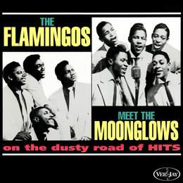 The Flamingos Meet The Moonglows On The Dusty Road Of Hits — The Flamingos, The Moonglows