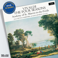Vivaldi: The Four Seasons etc — Sir Neville Marriner, Academy of St. Martin in the Fields, Alan Loveday
