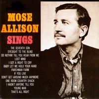 Mose Allison Sings — Mose Allison