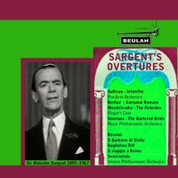 Sargent's Overtures — Sir Malcolm Sargent, Pro Arte Orchestra