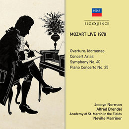 Mozart Live 1978 — Sir Neville Marriner, Academy of St. Martin in the Fields, Alfred Brendel, Jessye Norman