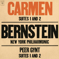Bizet: Carmen Suites Nos. 1 & 2 - Grieg: Peer Gynt Suites Nos. 1 & 2 — Леонард Бернстайн, New York Philharmonic Orchestra